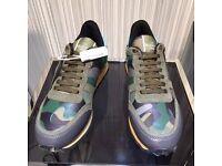 Valentino Rockrunner green Camouflage Sneaker Brand new no Adidas Nike yeezy
