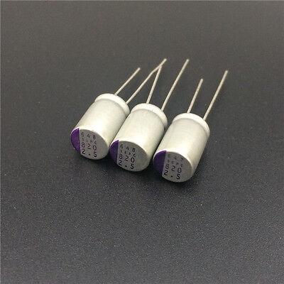 100pcs 820uf 2.5v Sanyo Oscon Sepc 8x13 2.5v820uf Super Low Esr Solid Capacitor