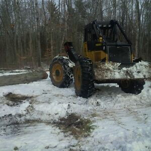 Skidder for Rent with Operator