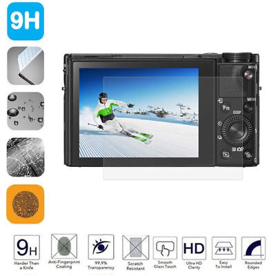LCD Screen Protector Tempered Glass Film Cover For Sony Alpha A6000 RX100 A77~