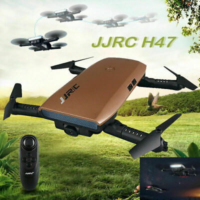 WiFi FPV JJRC H47 Selfie Drone 720P 2MP Camera Auto Foldable RC Quadcopter Toy