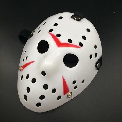 Halloween Jason Voorhees Mask Friday The 13th Horror Movie Hockey Costume F5A