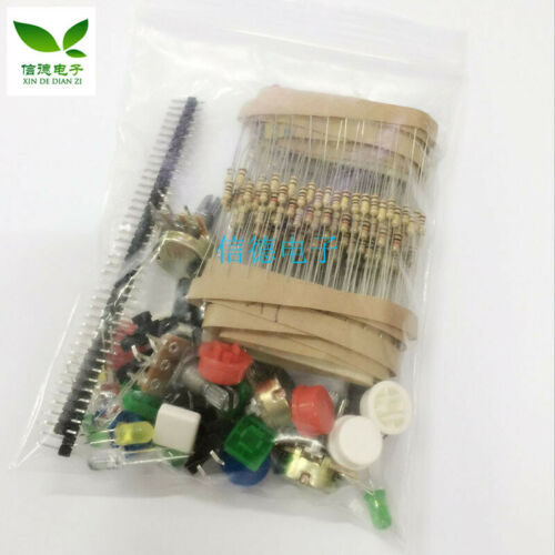 1pc T39 Universal Parts Kit No. 1 Component Kit With Resistor Led Potentiometer
