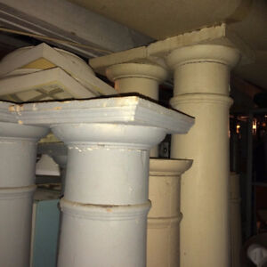 Antique Classic House Columns Roman Classic Capital - 1900's