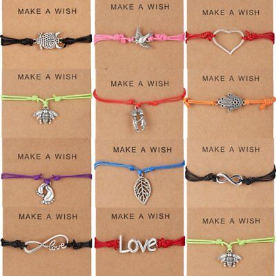 Wish Bracelet Tibetan Charm Friendship Birthday Best Friend Sister Fashion Gift (Friend Ship Bracelets)