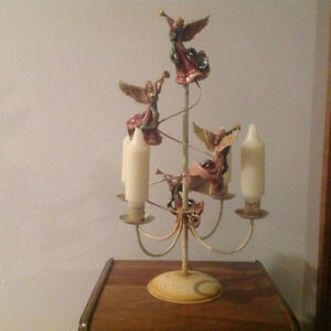 Angel Candle Holder, Southwestern Vase