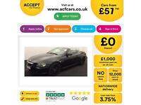 Black BMW 650i 4.8 auto 2007 i Sport Leather 367bhp FROM £57 PER WEEK!