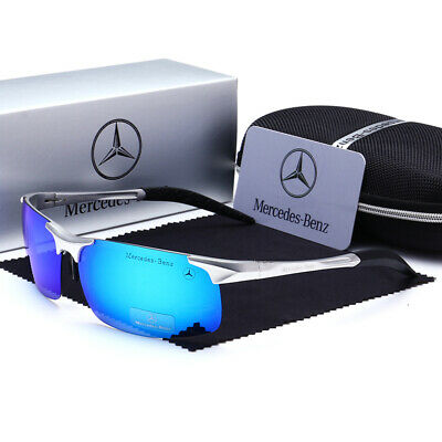 Mann Sonnenbrille Mercedes Driving Eyewear Luxury polarisierte with Box 2020