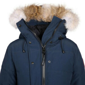 XL canada goose womens parka navy blue