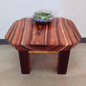 Hand Stained Fir Coffee Table