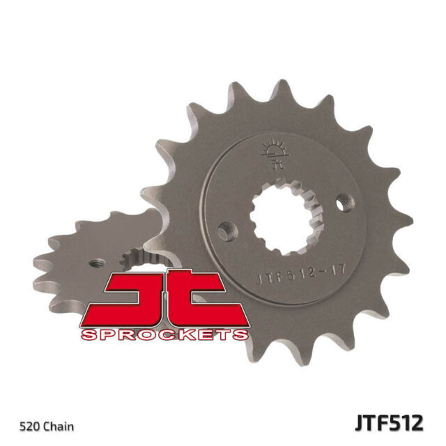 JT STEEL FRONT SPROCKET FOR 1996 - 2007 YAMAHA YZF600 YZF 600 , 16T 520 CONV
