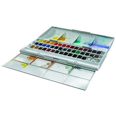 (49,60€/1Stk) Winsor Cotman  Half Pan Studio Set 0390471 Aquarell Farbenset