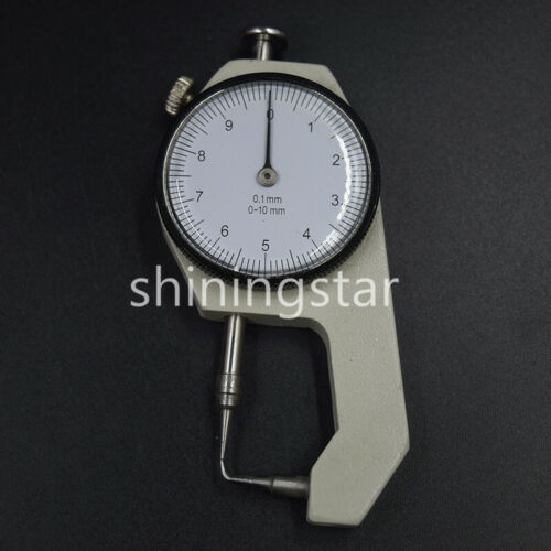 1 Pc Dental Endodontic Gauge Dial Thickness Caliper Measuring Instrument 0-10mm