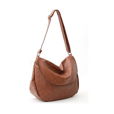 New Women Handbag Ladies Shoulder Cross Body Bag Faux Leather Hobo Bag Satchel
