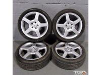 "18"" 5 Spoke AMG Style Alloy Wheels"