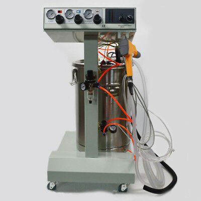 Wx-101powder Coating System Machine Electrostatic Spray Gun 45l Volume