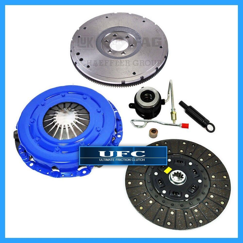 FX STAGE 2 CLUTCH KIT HD FLYWHEEL 1991-92 JEEP CHEROKEE COMANCHE WRANGLER 4.0L