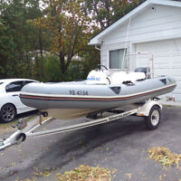 14ft Zodiac,40hp yamaha, trailer