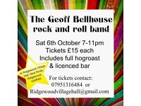 The Geoff Bellhouse Band and Hog Roast