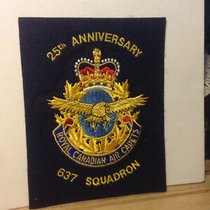 25th Anniversary Royal Canadian Air Cadets Patch
