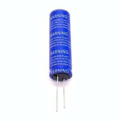 Super Farad Capacitor 2.7v 100f Low Esr High Frequency For Car Speaker Battery