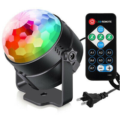 Disco Party Lights Strobe Led Dj Ball Sound Activated Bulb Dance Lamp Decoration](Phone Party)