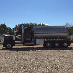 2013 Kenworth W900 Potable Water Truck