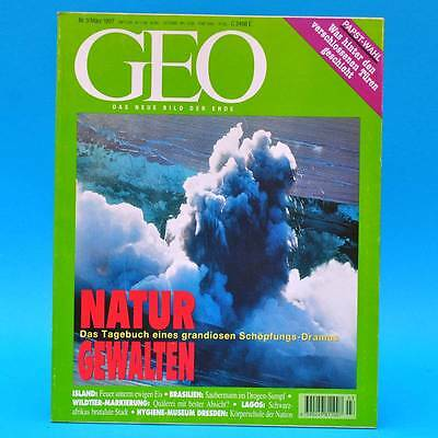 GEO Magazin 3/1997 Hygiene-Museum Joao Pomba Island-Vulkan Blüten-Kunst Pabst