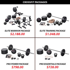 Barbell Set Crossfit Package Weight Kettlebell Plate Olympic