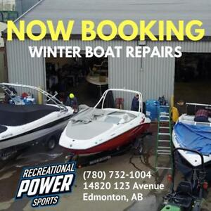 Boat Repairs  Winter Discounts & Layaway Plans!