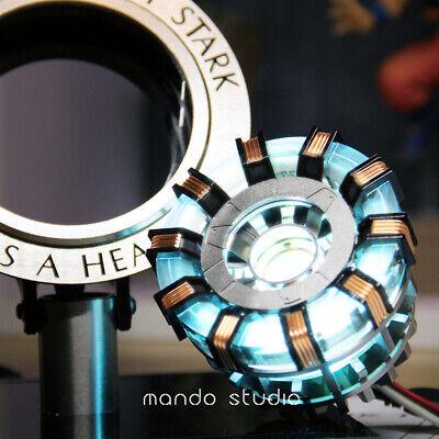 Scale Arc Ark Heart Pioneer Reactor Abbildung Kit LED-Licht (Halloween Tony Stark)