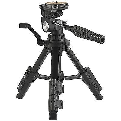 Dreibein Kamera Stative: Standfestes Mini-Stativ mit flexiblem 3-Wege-Kopf