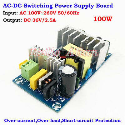 Ac-dc Converter 110v 220v 230v To 36v 2.5a Isolated Power Switching Transformer