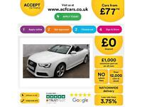 Audi A5 FROM £77 PER WEEK!