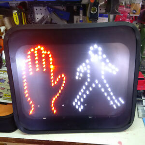 "Digital LED ""WALK - DON'T WALK"" Sign"