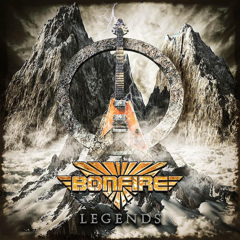 BONFIRE - Legends - 2CD - 884860248129