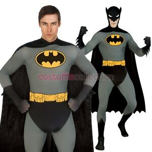 Batman - 2nd Skin Suit Batman - Full Body Stretch Jumpsuit