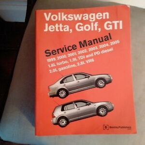 VW Golf/Jetta Service Manual