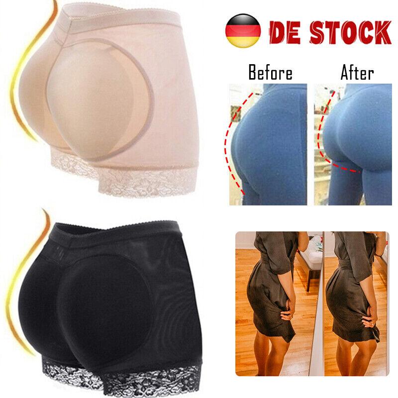 Sexy Damen Push Up Po Höschen Slip Unterhose Mieder Dessous Lift Hüfte Pants BS