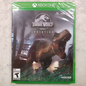 Jurassic World Evolution Xbox One Game - NEW