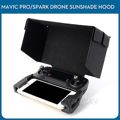 Remote Prepositor Hood Sun Shade Screen Cover For DJI Spark Mavic Air/Pro Drone