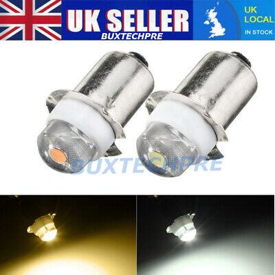NEW P13.5S 0.5w 3v 6v work light flashlight torch light replacement led bulb  UK