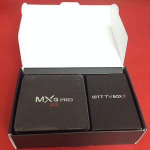 GENUINE 4K ANDROID TV BOX KODI FULLY LOADED MXQ PRO - 4k Amlogic