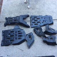 2013 Grizzly 700 Yamaha skid plates