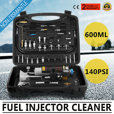 AUTOOL C100 Non-Dismantle Injector Cleaner & Tester Fuel System For Petrol Car (Injector Tester)