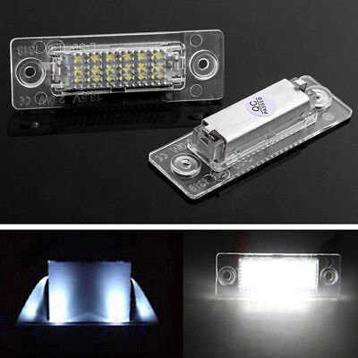 2PCS For VW Golf Jetta Caddy Touran T5 18 LED Car License Plate Number Lights! for sale  Canada