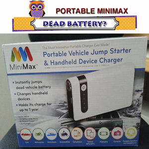 THE BEST EVER VEHICLE JUMP STARTER - ALL ACCESSORIES INCLUDED
