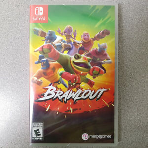 Brawlout Switch Game