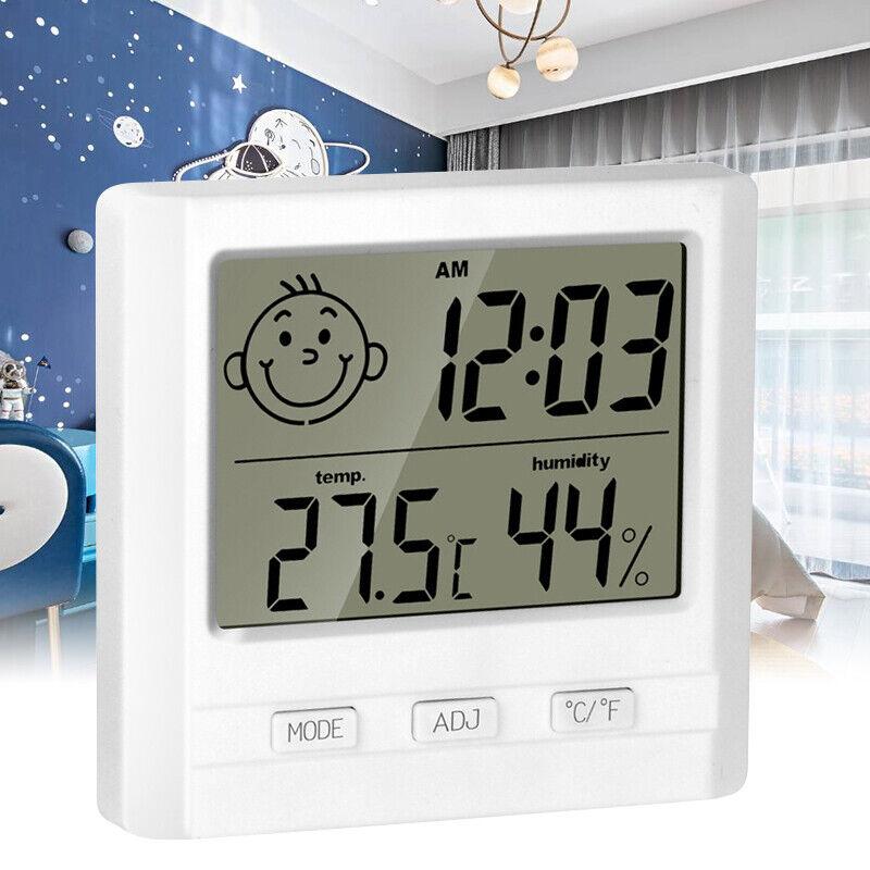 Digital Thermometer Hygrometer Indoor Children Room Humidity