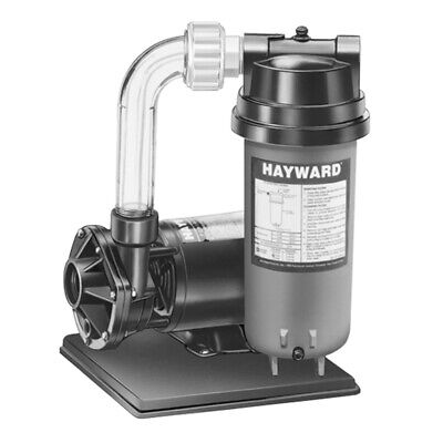 Hayward C2251540LSS 25 sq ft Above Ground Pool Cartridge Filter and Pump System Above Ground Pool Filter Systems